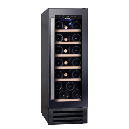 Candy Wine cooler CCVB 30 Built-in, Bottles capacity 19, Black CCVB 30 Vīna skapji