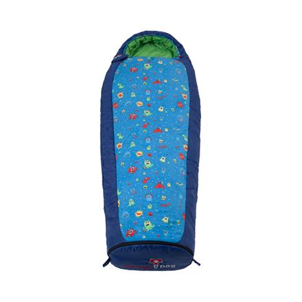 Gruezi-Bag Kids Monster Grow, Sleeping bag, 140-180x65(45) cm, Right zipper 6051 guļammaiss