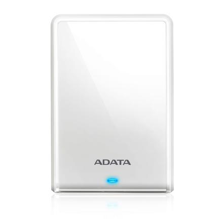 Adata HV620 ,2TB ,White ,SuperSpeed USB 3.1 White Ārējais cietais disks