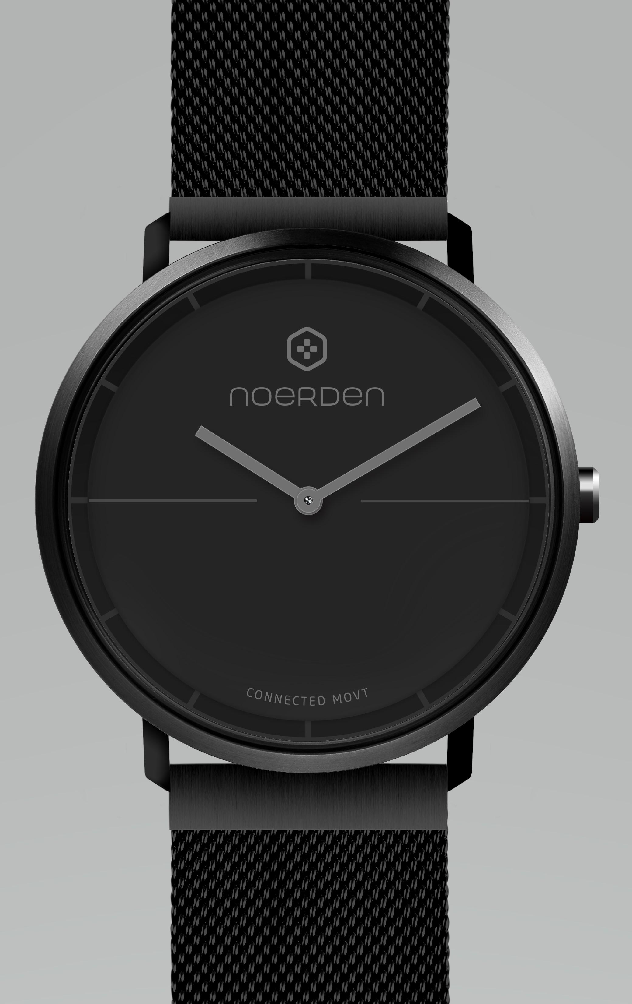 NOERDEN LIFE 2+ FULL BLACK + dāvanā papildus siksniņa Viedais pulkstenis, smartwatch