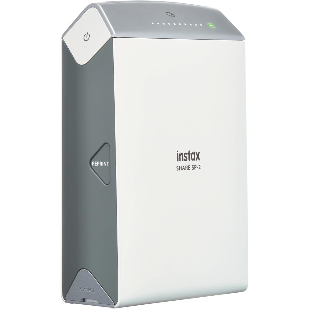 PRINTER INSTAX SHARE SP-2/SILVER W/10SH GLOSSY FUJIFILM PRINTERINSTAXSP-210S Digitālā kamera