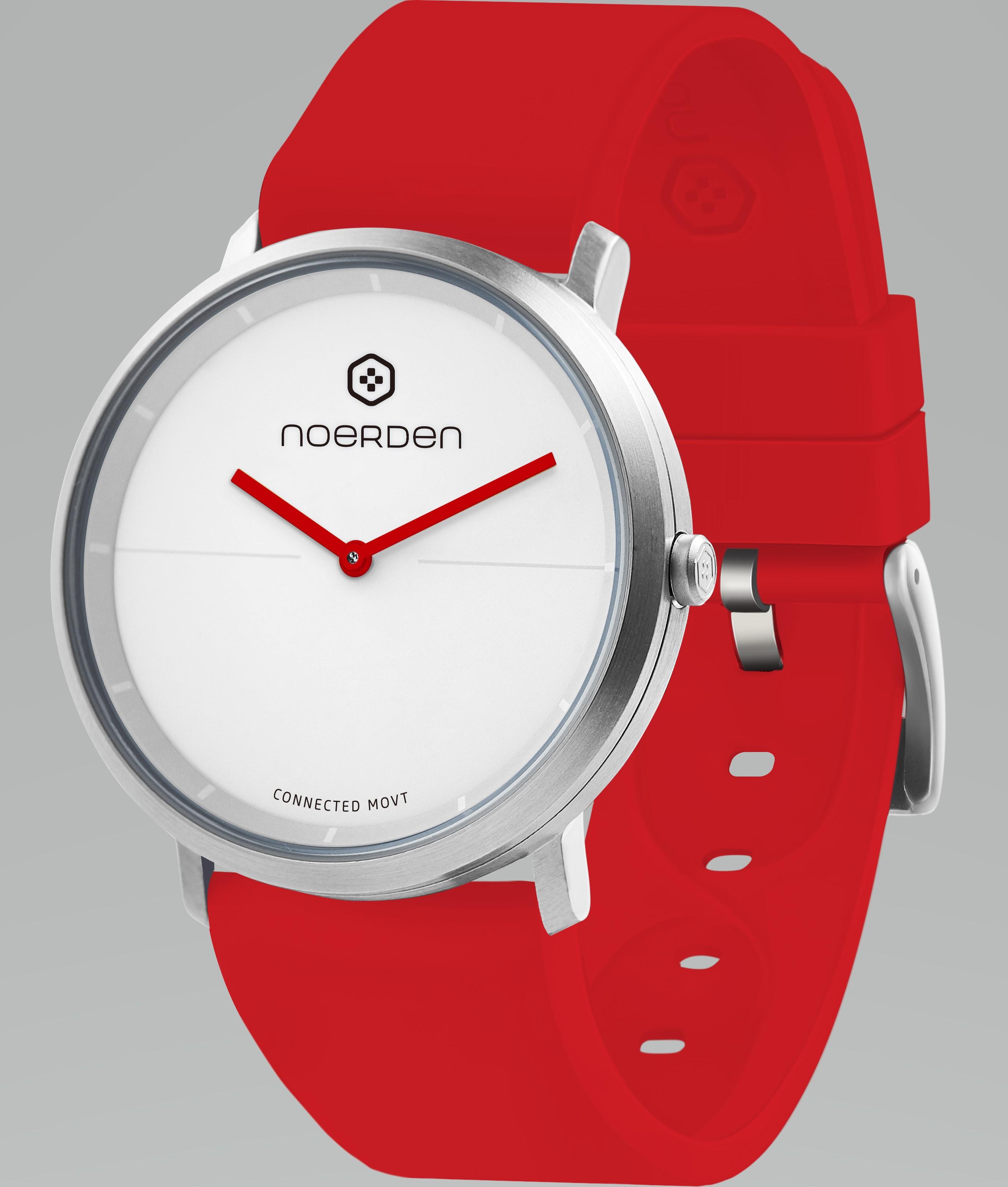 NOERDEN LIFE2 RED + dāvanā papildus siksniņa Viedais pulkstenis, smartwatch