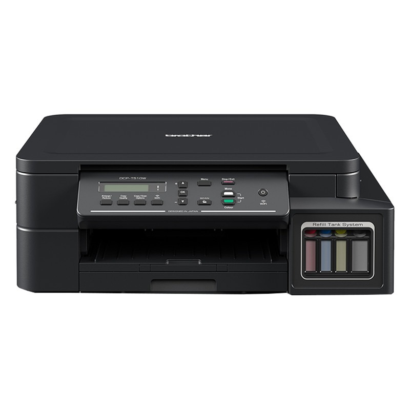 Brother DCP-T510W Colour, Inkjet, A4, Wi-Fi, Black printeris