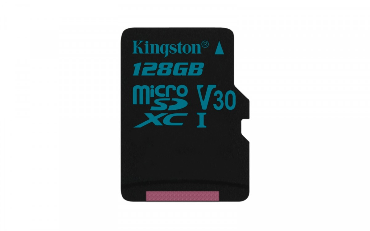 Kingston 128GB microSD Class U3 UHS-I 90R/45W atmiņas karte
