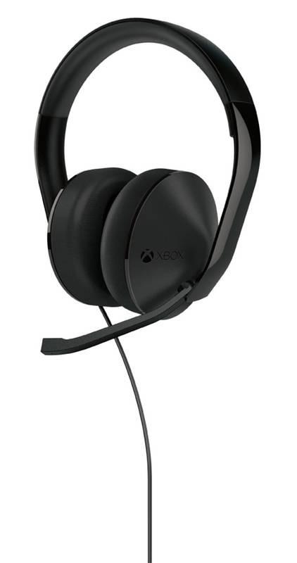 Xbox ONE Stereo Headset Black S4V-00013 spēļu aksesuārs