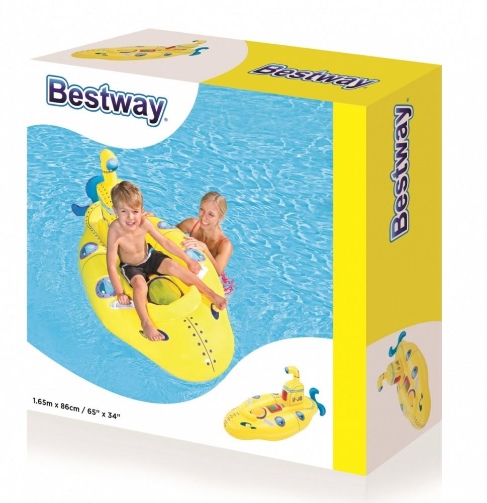 Yellow boat 165x86 cm 41098