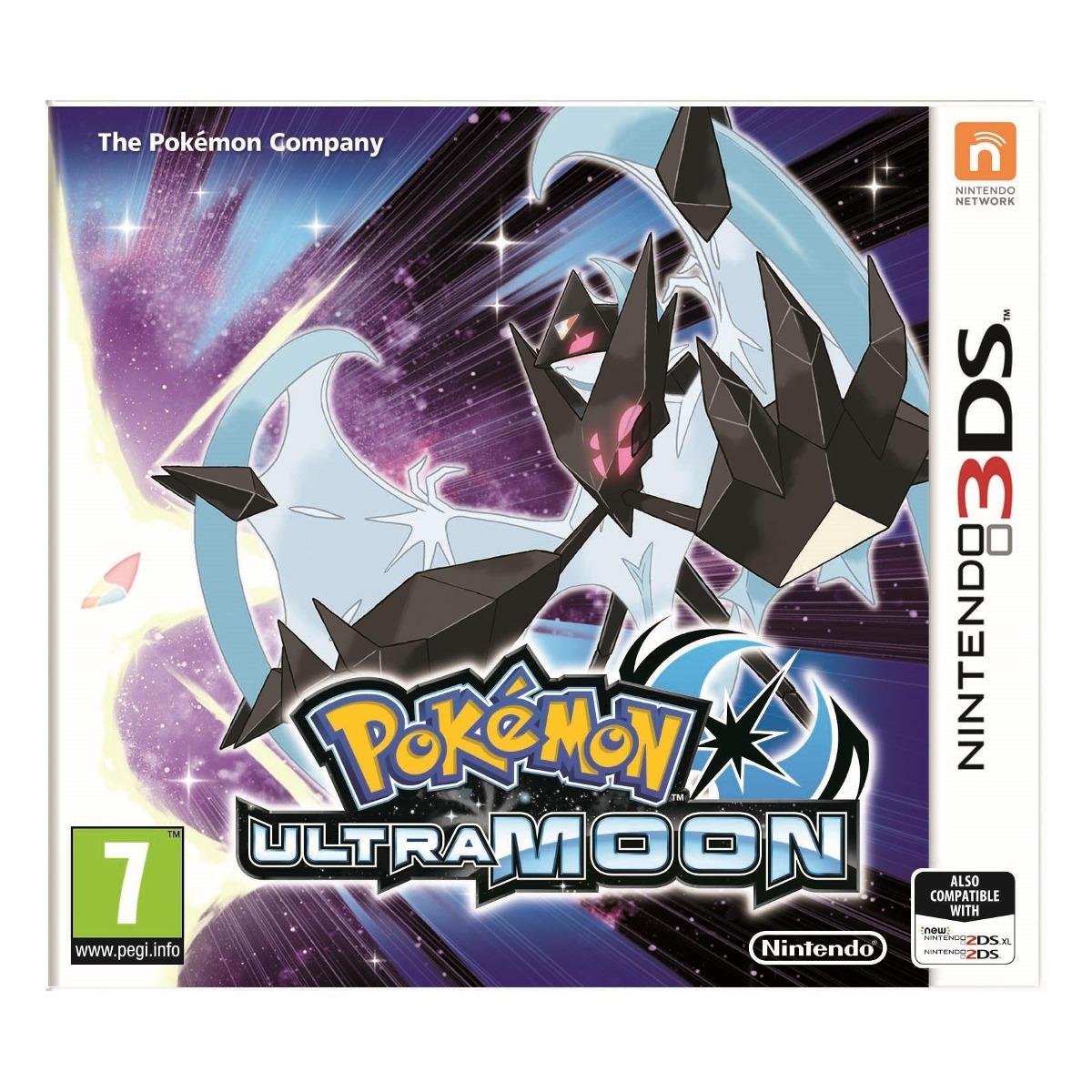 3DS Pokemon ULTRA Moon spēle