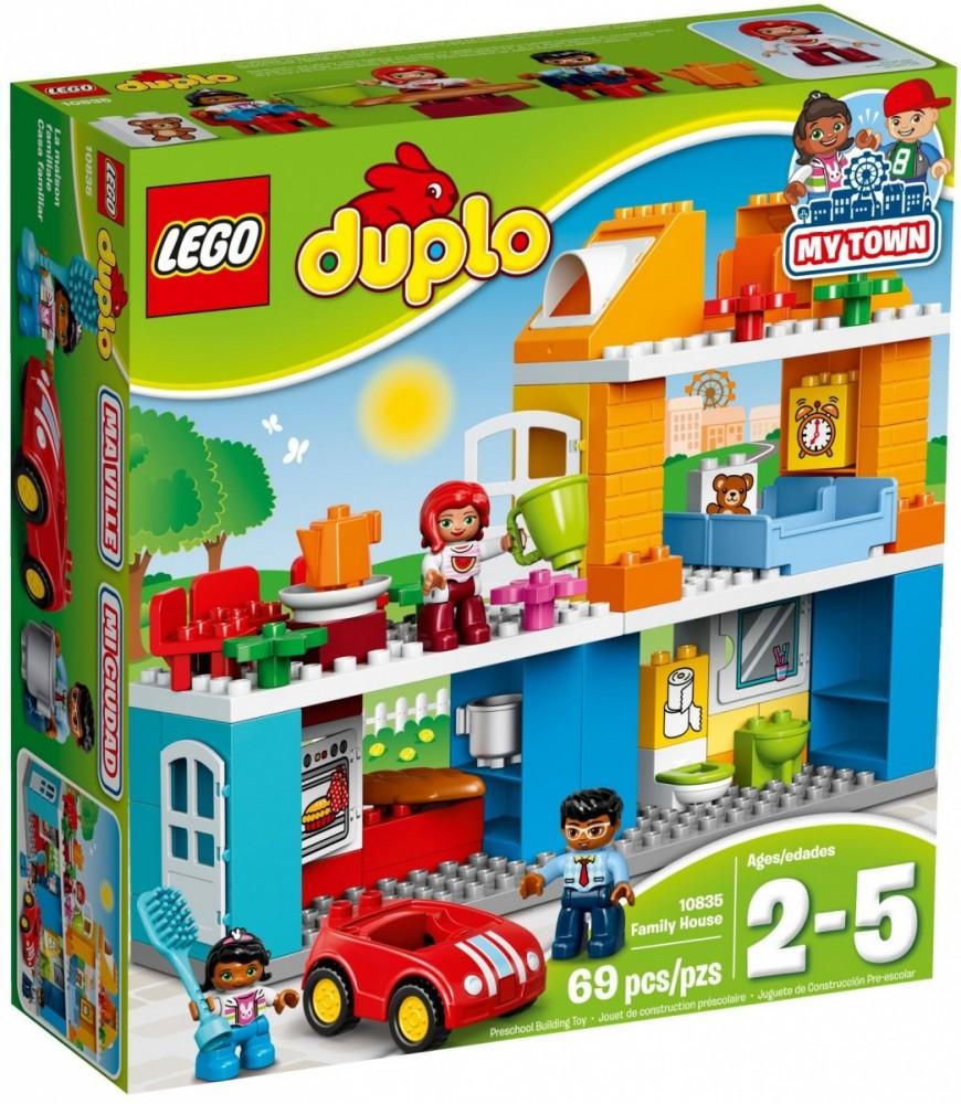 LEGO DUPLO 10835 My Town Family House LEGO konstruktors