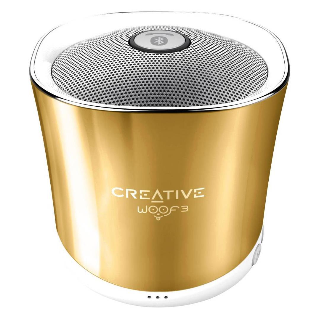 Portable speaker Creative Woof 3 Autumn, BT2.1, 500mAh, Microphone pārnēsājamais skaļrunis