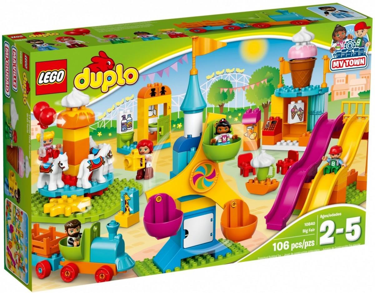 LEGO DUPLO - Big Fair - 10840 LEGO konstruktors