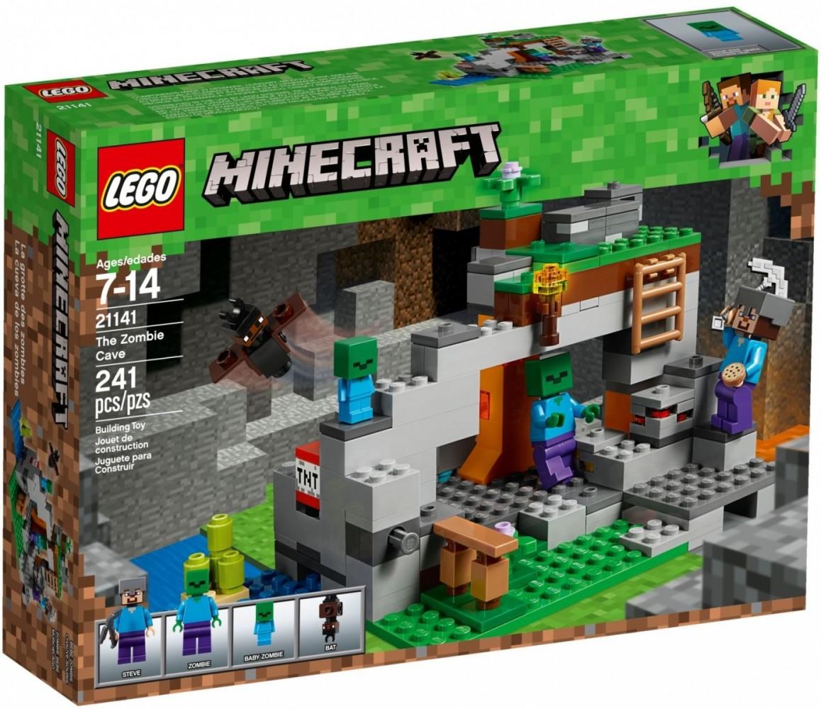 LEGO Minecraft 21141 The Zombie Cave LEGO konstruktors