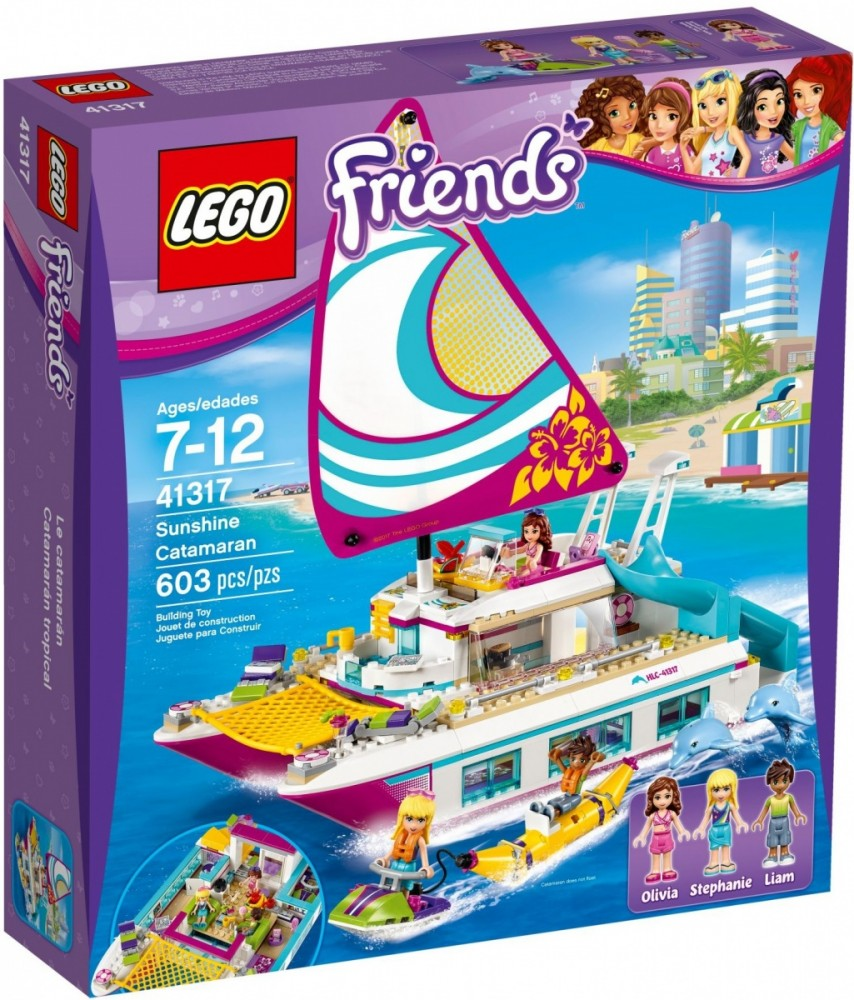 LEGO Friends 41317 Sunshine Catamaran LEGO konstruktors