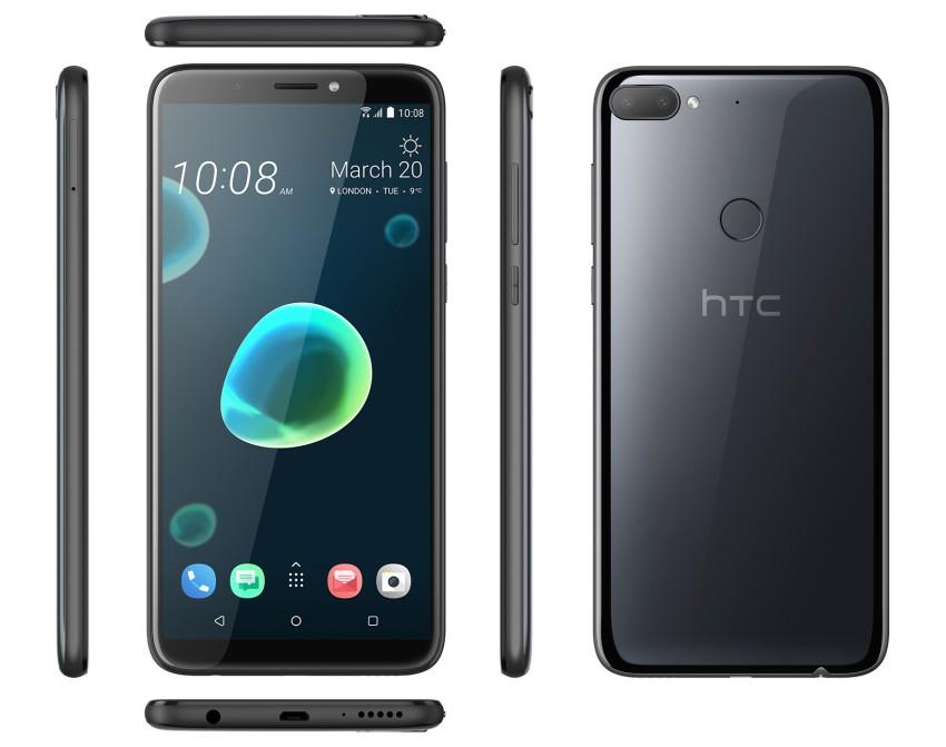 Desire 12+ Dual Sim Black Mobilais Telefons