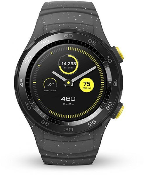 Huawei Watch 2 Concrete grey LEO-BX9 Watch 2 Viedais pulkstenis, smartwatch