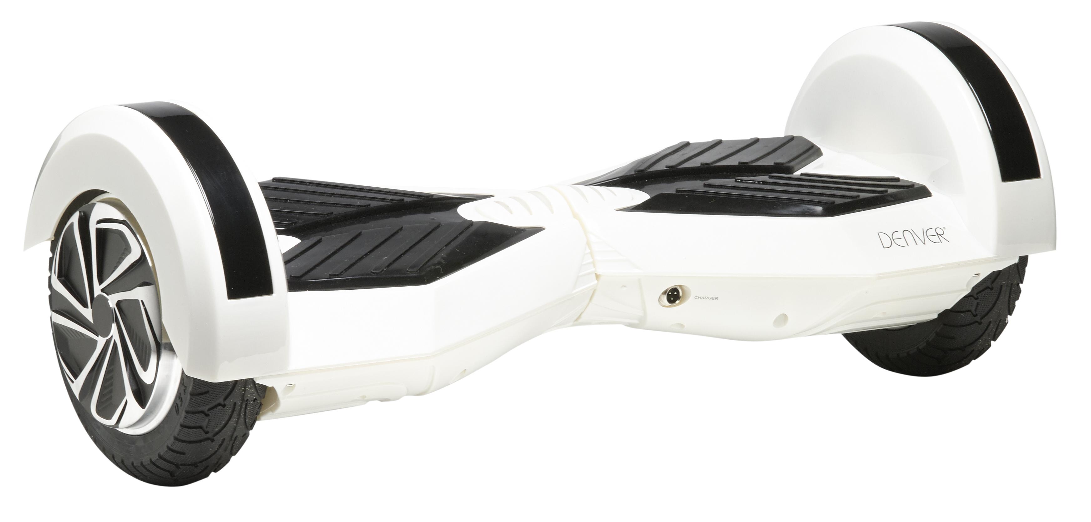Denver DBO-8001 White Elektriskie skuteri un līdzsvara dēļi