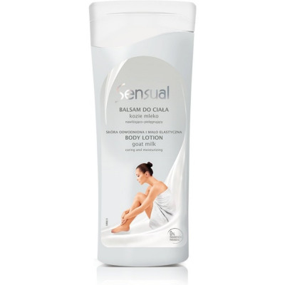 Joanna Sensual Body lotion with goat milk 200 g kosmētika ķermenim
