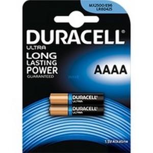 Duracell MN 2500 Ultra Power Mini Batterie - AAAA (MN2500) 2pcs Baterija