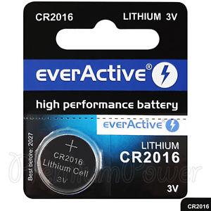everActive CR2016-5BB Blistera iepakojum  5gb. Baterija