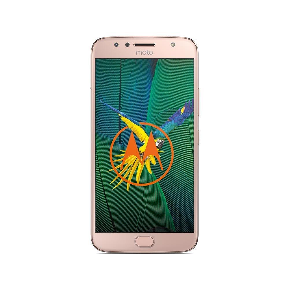 Lenovo Moto G5S Plus - 5.5 - 32GB - Android - gold PA6V0093DE Mobilais Telefons