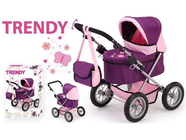 Wozek gzboki dla lalki bērnu rotaļlieta