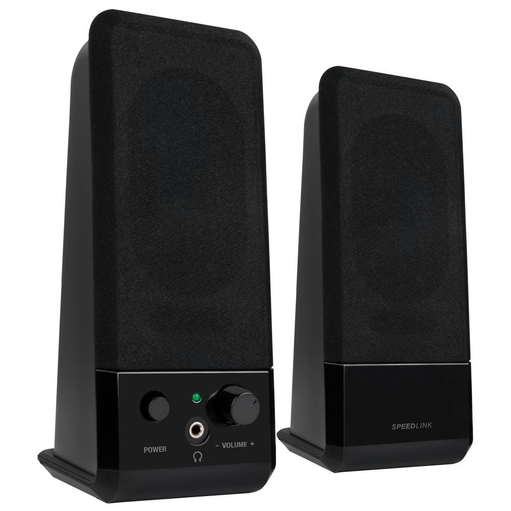 Speedlink EVENT Stereo Speakers black datoru skaļruņi
