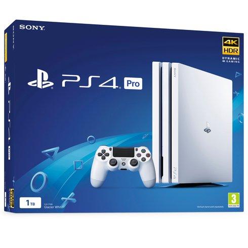 Sony PlayStation 4 Pro 1TB - White spēļu konsole