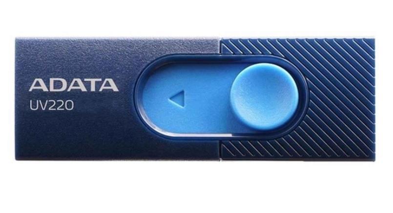 Adata Flash Drive UV220, 8GB, USB 3.0, blue and navy USB Flash atmiņa