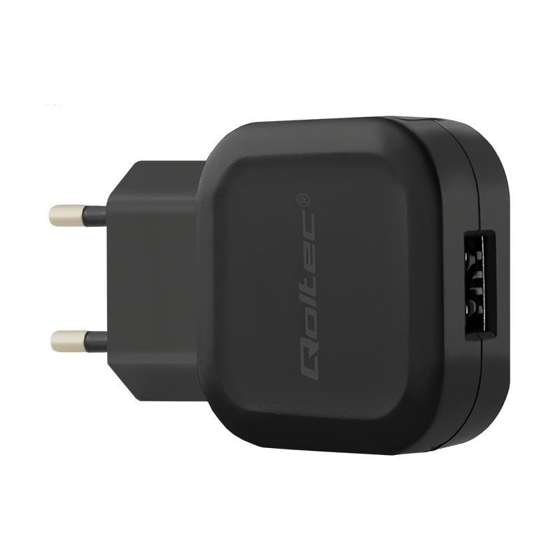 Qoltec 12W 5V 2.24A USB iekārtas lādētājs