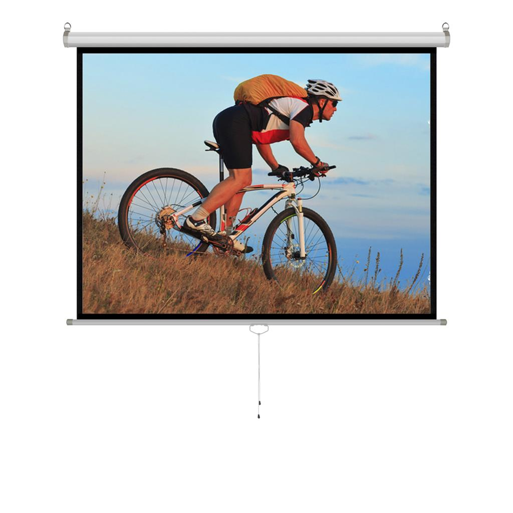 ART Handheld semi-auto. screen 4:3 120''244x183 ekrāns projektoram