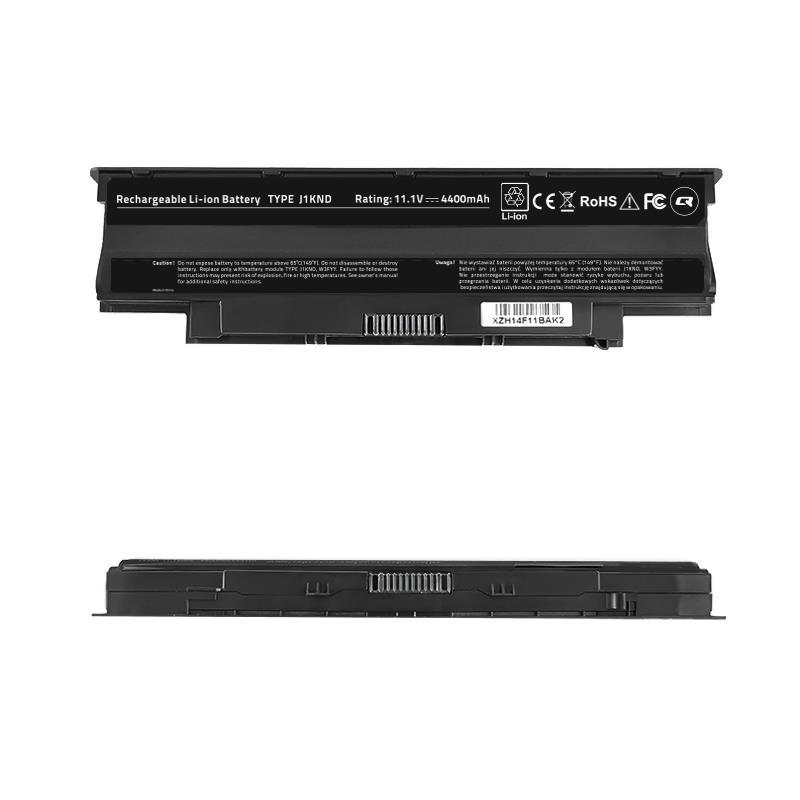 Qoltec Long Life Notebook Battery - Dell Vostro 13R , 10.8-11.1 V | 4400 mAh akumulators, baterija portatīvajiem datoriem