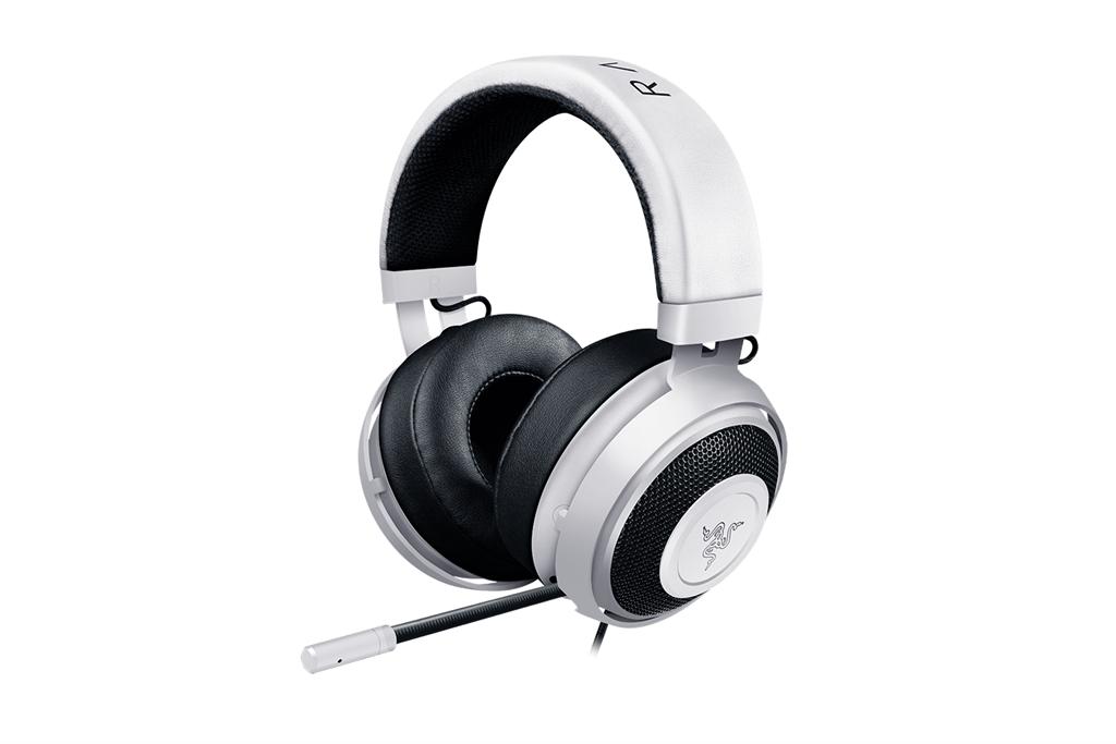 Gaming headset Razer Kraken Pro V2 White Oval, USB
