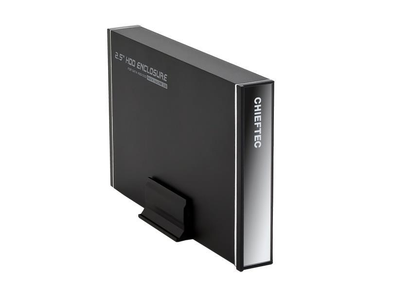 CHIFETEC ALU.BOX for 2.5 S-ATA HDD USB3. piederumi cietajiem diskiem HDD