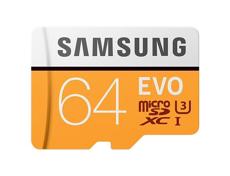 MEMORY MICRO SDXC EVO 64GB/C10 W/A MB-MP64GA/EU SAMSUNG