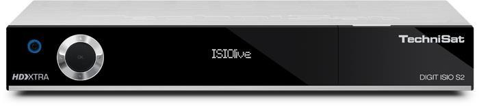 TechniSat DIGIT ISIO S2, Tuner DVB-S, Silver magnetola