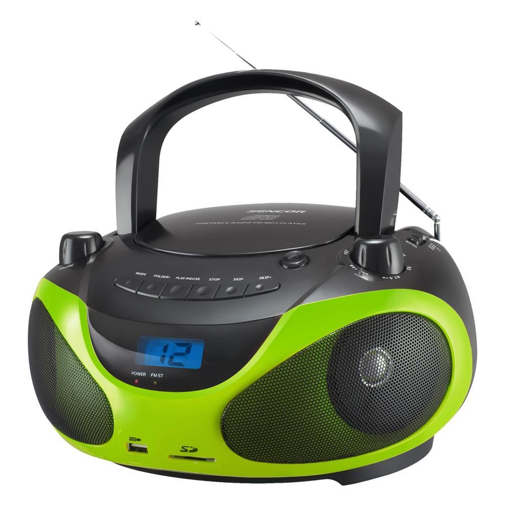Sencor Boombox CD/MP3/USB SENCOR SPT 228 BG magnetola