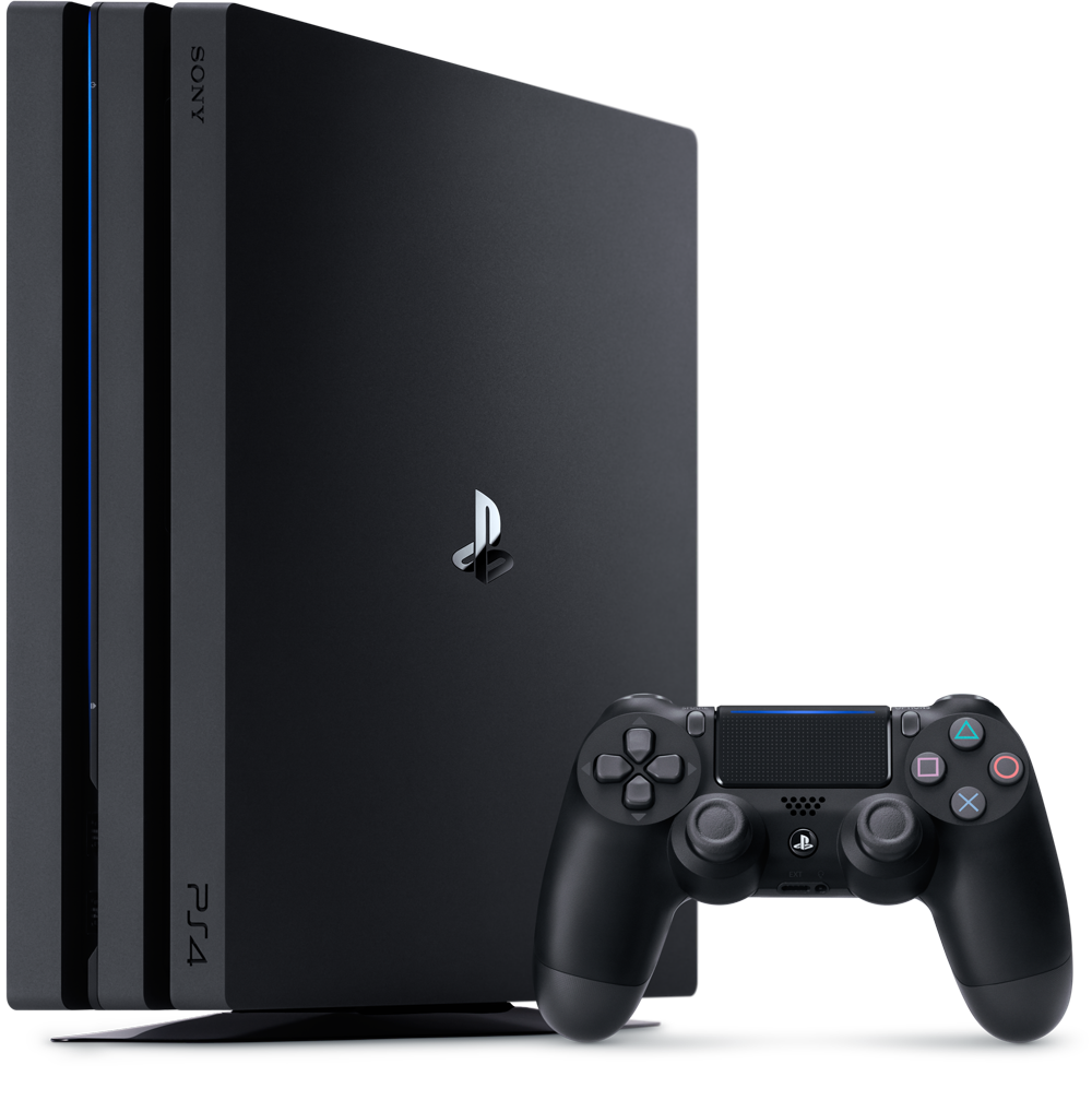 Sony PlayStation PS4 Pro 1TB Black spēļu konsole