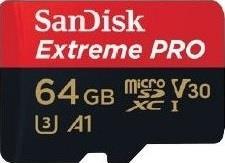 SanDisk microSDXC A1 100MB  64GB Extreme Pro   SDSQXCG-064G-GN6MA atmiņas karte