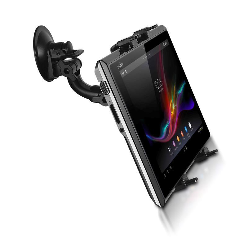 Whitenergy Universal Car holder for GSM/GPS, window Mobilo telefonu turētāji