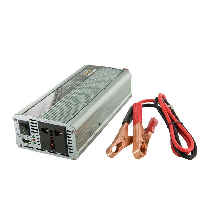 Whitenergy Power Inverter DC/AC from 12V DC to 230V AC 800W, USB Strāvas pārveidotājs, Power Inverter