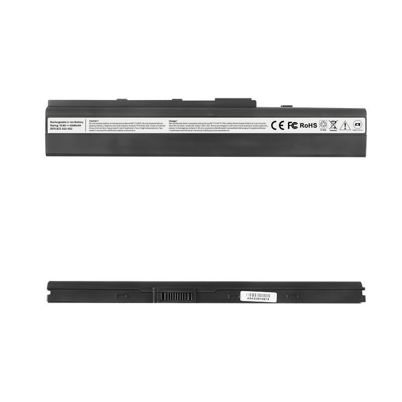 Qoltec Long Life Notebook Battery - Asus A32-K52 X42, 10.8-11.1 V | 4400 mAh akumulators, baterija portatīvajiem datoriem