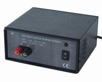 Power supply 13,8V 40A 530W GRA/6461