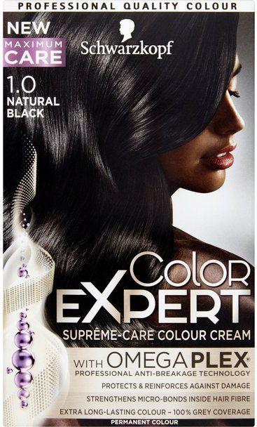 Schwarzkopf Color Expert Krem koloryzujacy do wlosow nr 1.0 Bogata Czern 1op. 68060942