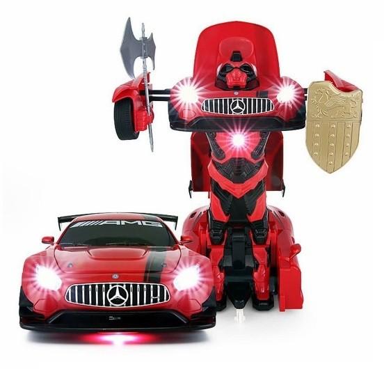RASTAR GT3 Transformer 1:14 2.4GHz RTR - Red Radiovadāmā rotaļlieta