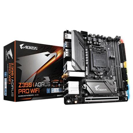 Gigabyte Z390 Aorus Pro WiFi, Intel Z390 Socket 1151 mini-ITX mITX m-ITX pamatplate, mātesplate