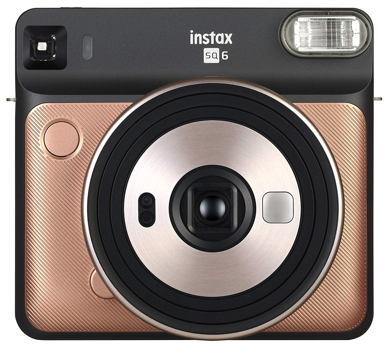Fujifilm instax SQUARE SQ6 - black/gold 16581408 Digitālā kamera