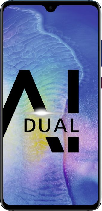HUAWEI Mate20 Dual-SIM twilight Mobilais Telefons