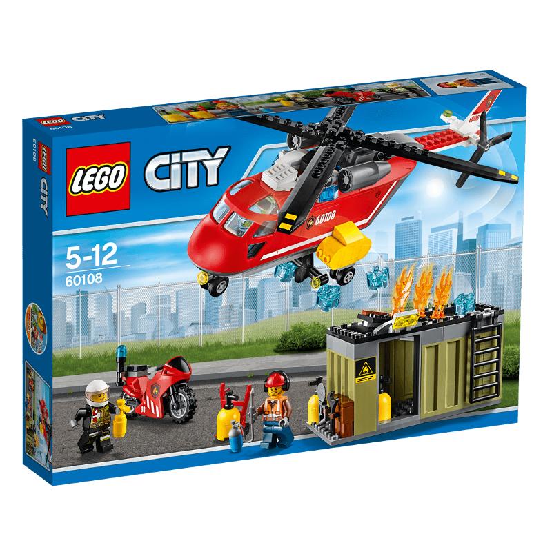 LEGO Fire Response Unit  60108 LEGO konstruktors