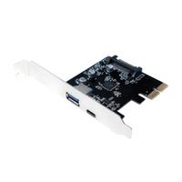 PCI Express Karte LogiLink 2x USB3.1 Gen2 1xTyp A& 1x Typ C karte