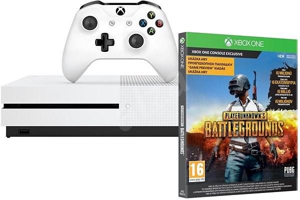 Xbox One S 1TB + Playerunknowns Battleground 234-00310 spēļu konsole