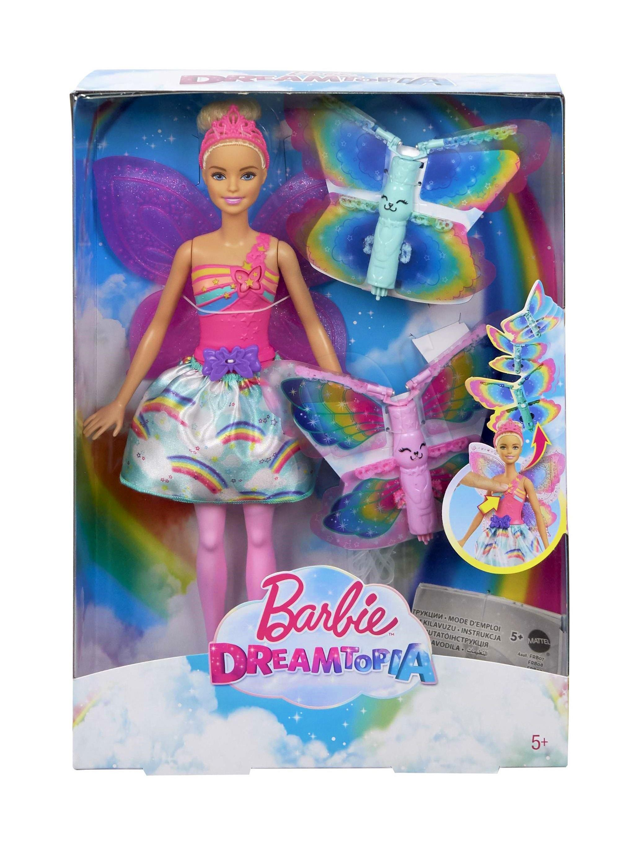 Barbie Flying Wings Feature Fairy Blonde bērnu rotaļlieta